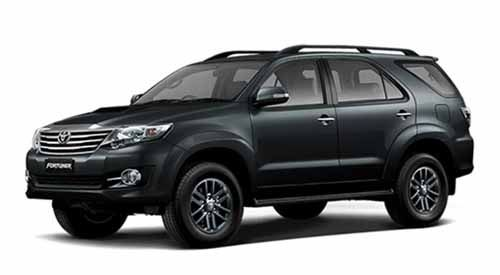 Vehicle Toyota Fortuner Old for rent in Phangan