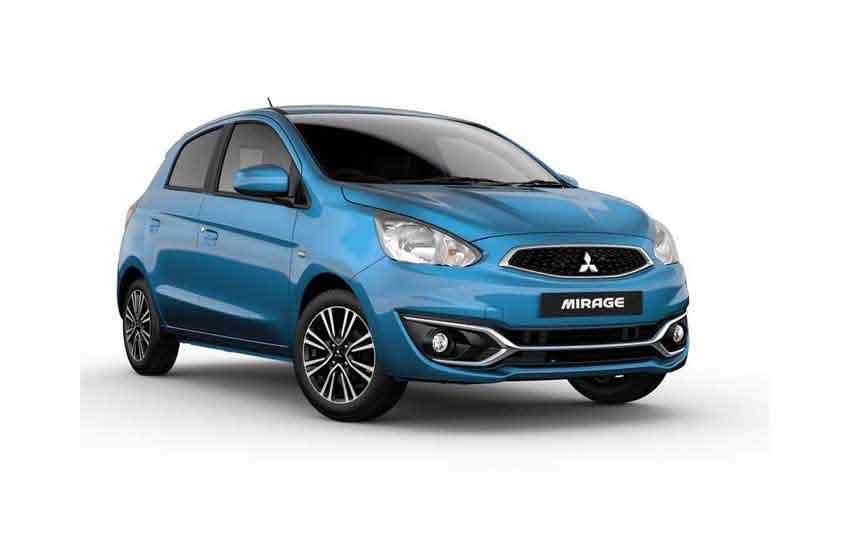 Mitsubishi Mirage For rent in Koh Samui