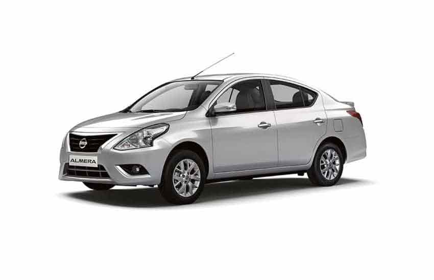 Vehicle Nissan Almera for rent in Samui