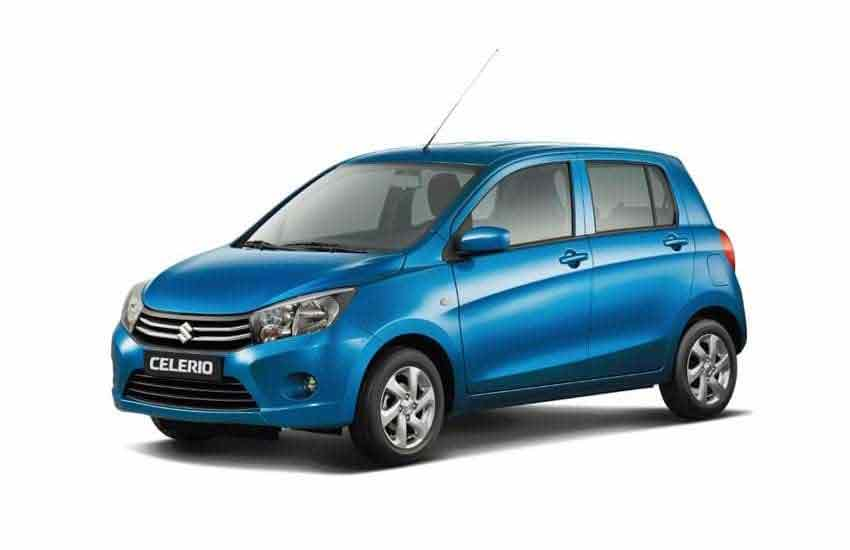 Suzuki Celerio for rent in Koh Samui