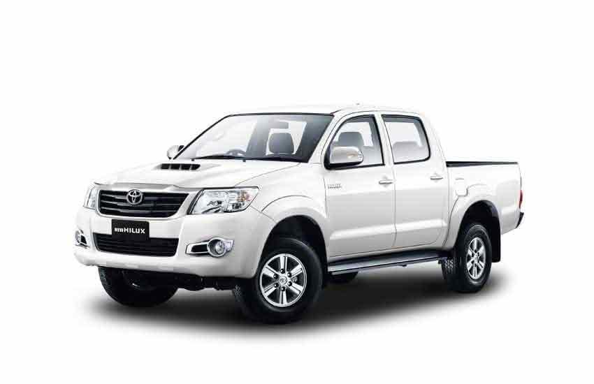 Аренда пикапа Toyota Hilux в прокате на Панган