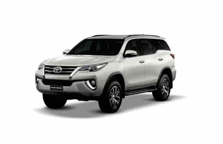 Аренда джипа Toyota Fortuner в прокате на Панган