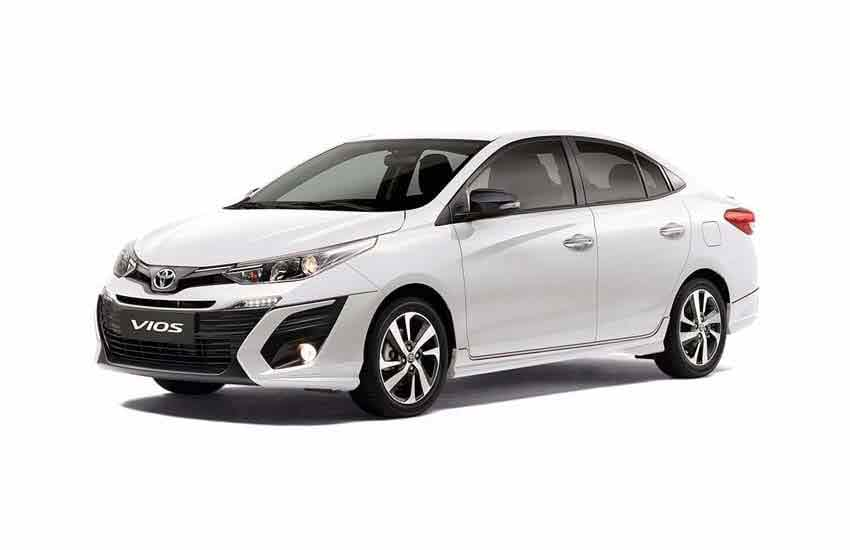 Vehicle Toyota Vios for rent in Samui