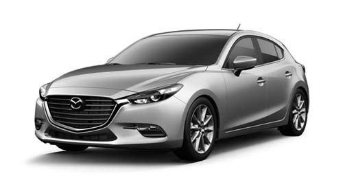 Mazda 3 for rent in Koh Phangan